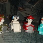 Щенячий патруль Paw Patrol заводные машинки маршал эверест Трекер Робот пёс