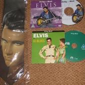 Набор Elvis Presley :фирменный галстук + 2 диска (оригинал)!
