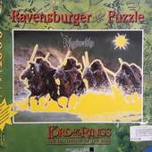 Пазл светящийся 1000 Властелин Колец черные всадники Ravensburger Германия