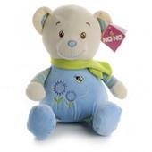 IF56 М'яка іграшка синій ведмедик 45 см