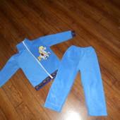 Флисовый костюм на 3-4 года