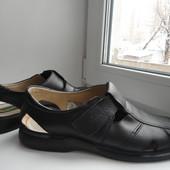 раз.43-43,5.Кожаные сандалии Barefoot by Corami