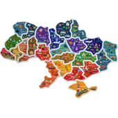 """Магнітний пазл """"Карта України"""""""