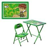 Детская столик-парта DT 18-5 со стульчиком Бен 10
