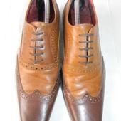 Мужские кожаные туфли Hell For Leather next р.41(7) дл.ст 27,5см