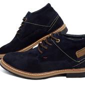 Стильные зимние ботинки Замша Hilfiger 40-45