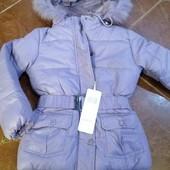 Акция цена снижена распродажа Зима  удлиненная куртка пуховик