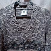 Теплый красивый мужской свитер(пуловер)