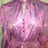 Красивое платье из плотного шелка уп 12