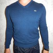 Lacoste свитер мужской стильный модный рS