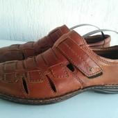 Кожаные туфли Bata 40р.Тунис.