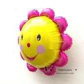 Новинка!!! **Яркий фольгированный шар цветочек 66 см **