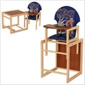 Стульчик для кормления трансформер деревянный МV-010-24-4