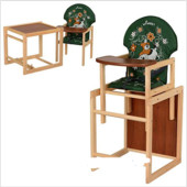 Стульчик для кормления трансформер деревянный МV-010-22-6