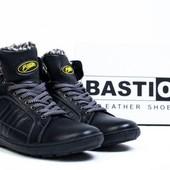 Новые кожаные ботинки на меху 45р. стелька 29,8см