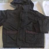 куртка на меху для мальчика 2-3 года mothercare