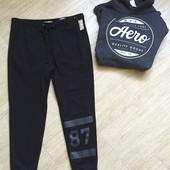 Новые мужские спортивные штаны размер м л Aeropostale джогери с матней