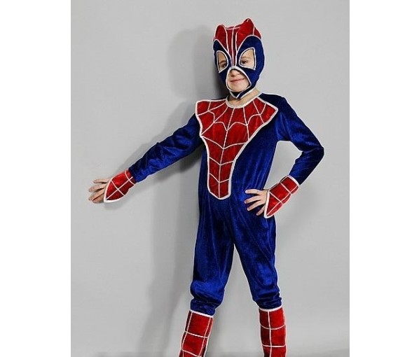 Карнавальный костюм спайдермена фото №2