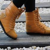 Ботинки лаковый носок, тракторная подошва Т10