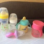 Бутылочки, поильники нимблер посуда для новорожденного
