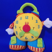 """Развивающая игрушка - погремушка часы, будильник, """"дрожалка"""" Tololo"""