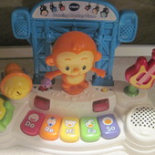 Пиаино с микрофоном vtech dancing monkey piano