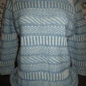 Очень красивый свитер 100% котон р-р 46-48