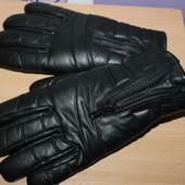 Мужские кожаные перчатки Waddington Thinsulate разм M