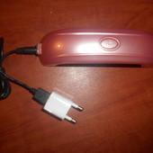 LED-лампа для ногтей USB+розетка