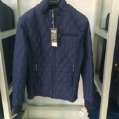 Мужская куртка темно синяя