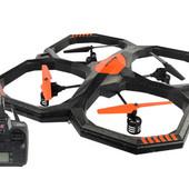 Радиоуправляемый квадрокоптер 2,4 gz Led 4 винта drone 907 оранж