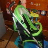 Детская прогулочная коляска тросточка трость miracolo