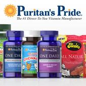 Витамины, крема Puritans Pride для всей семьи