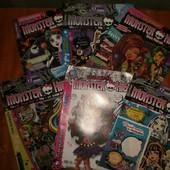 журналы Монстер Хай Monster High
