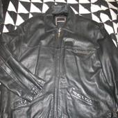 Куртка кожаная,утеплённая,р.56-58.Angelo Litrico (Анжело Литрико).