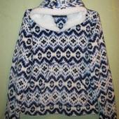 Плюшевая, домашняя кофта, пижама, суперовая) Inspirations 46/48евро размер.