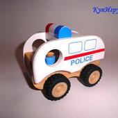 Mothercare Деревянная полицейская машинка
