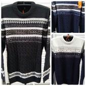 Теплые мужские свитера Турция 52- 58 размер