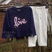 Пижама для девочки (1.5-6 лет) Primark