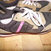 (№і265)фирменные замшевые кроссовки 40 р Esprit