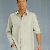Мужская рубашка Atlantic М XXL