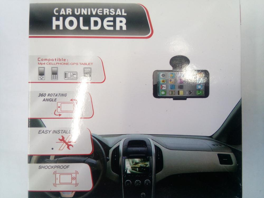 Автомобільний тримач для смартфонів телефонів фото №1