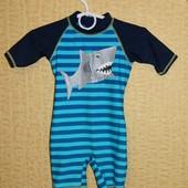 """Детский костюм Акула для плаванья на 6-9 мес. """"Adams Kids"""""""
