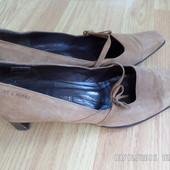 шкіряні туфлі 37р.