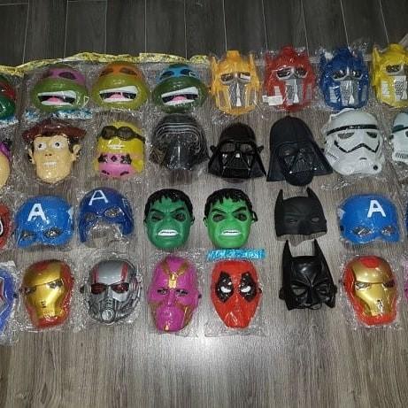 Маски супергероев в ассортименте! новые! фото №1
