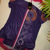 Crivitгермания S вело майка на замку, вело футболка футболка для спорта, майка, тенисска, кофта