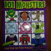 Раскраска 101 Monster