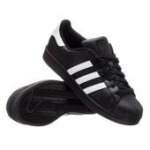 Кроссовки Adidas Superstar, р. 36-44, кожа, код mvvk-1126