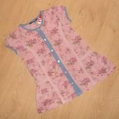 Рубашка, блузка, блуза для девочки George , 5-6 лет, 116 см, оригинал