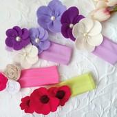 Оригинальные повязки для девочки